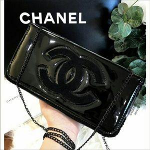 Chanel beauty makeup bag / clutch